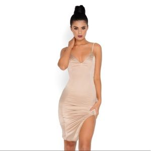 Oh Polly satin dress